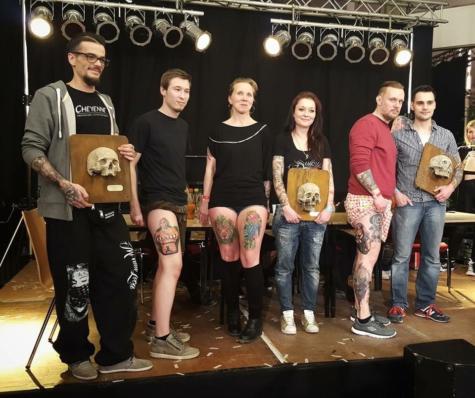 Tattoo & Lifestyle Convention Leipzig 2018 - Lui Gewinnern Colour Tattoo